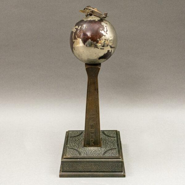 Czechoslovakia Liberation Globe and Airplane Trophy