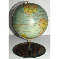 Denoyer-Geppert Company 4-Inch Terrestrial Desk Globe