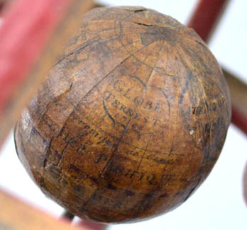 Louis-Charles Desnos Ptolemaic Armillary Sphere, detail