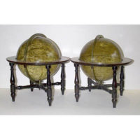 Pair of Alexander Donaldson Globes