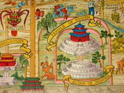 Pictorial Map and History of Peiping