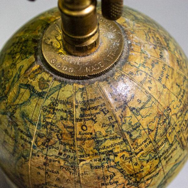 Forest Globe Lighter, North Pole Detail