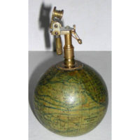 J. Forest 3-Inch Terrestrial Globe Cigarette Lighter
