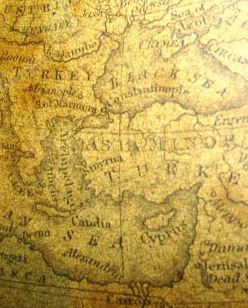 Franklin/Nims 10-Inch Table Globe