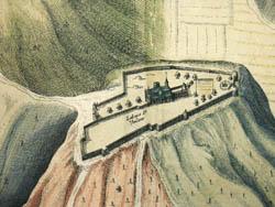 Laudunum, Vulgo Laon en Picardie [Laon in Picardy, France], detail