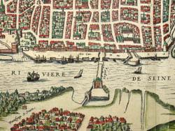 Rhotomagus Vulgo Rouen [Rouen, France] , detail