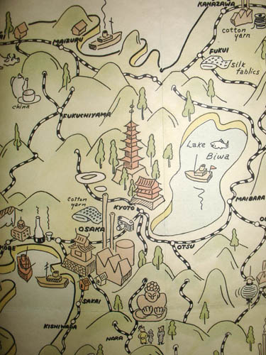 Pictorial Map, Japan