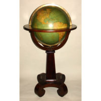 W. & A.K. Johnston 18-Inch Terrestrial Floor Globe
