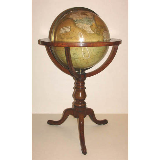 "Kirkwood & Son 12-Inch ""New Terrestrial"" Table Globe"