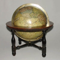 "John Kirkwood 6-Inch ""New Terrestrial"" Table Globe"