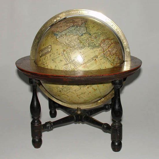 "John Kirkwood 6-Inch ""New Terrestrial"" Table Globe"
