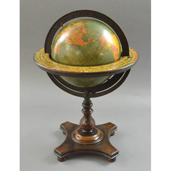 W. & A.K. Johnston, Ltd. (globe gores) 8-Inch Terrestrial Table Globe