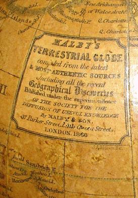 Malby 6-inch globe cartouche
