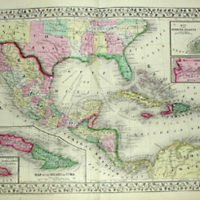 Maps, Mexico, Central America, &amp