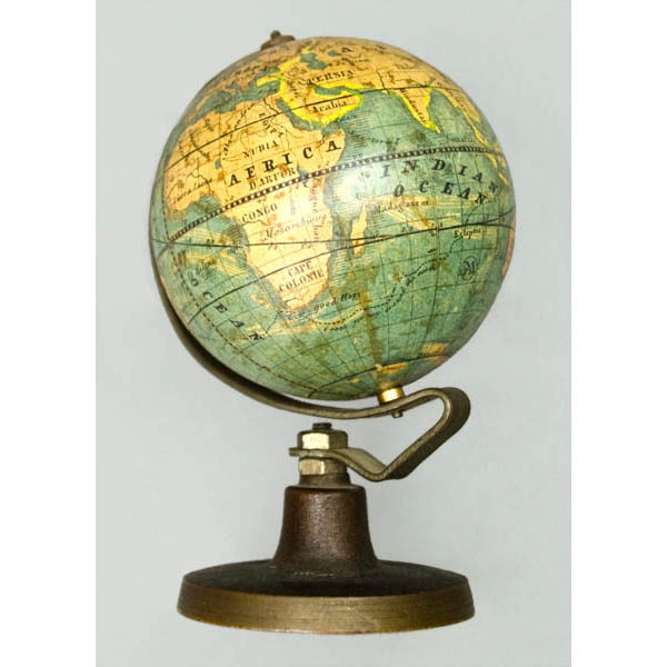 2.5-Inch Terrestrial Globe MPS, by Bauer Family, Nuremberg