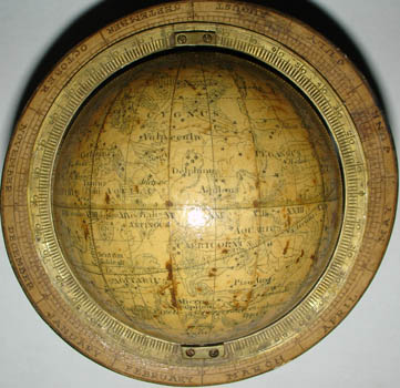 Newton 3-Inch Celestial Pocket Globe detail