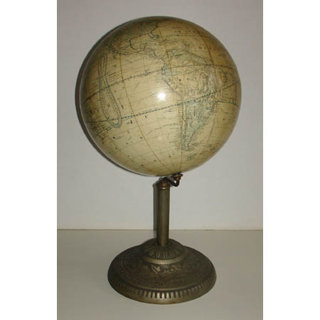 H.B. Nims & Co. 12-Inch Terrestrial Table Globe