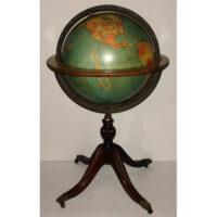 W. & A.K. Johnston/ Nystrom 18-Inch Terrestrial Floor Globe