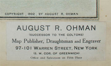 Label lower right