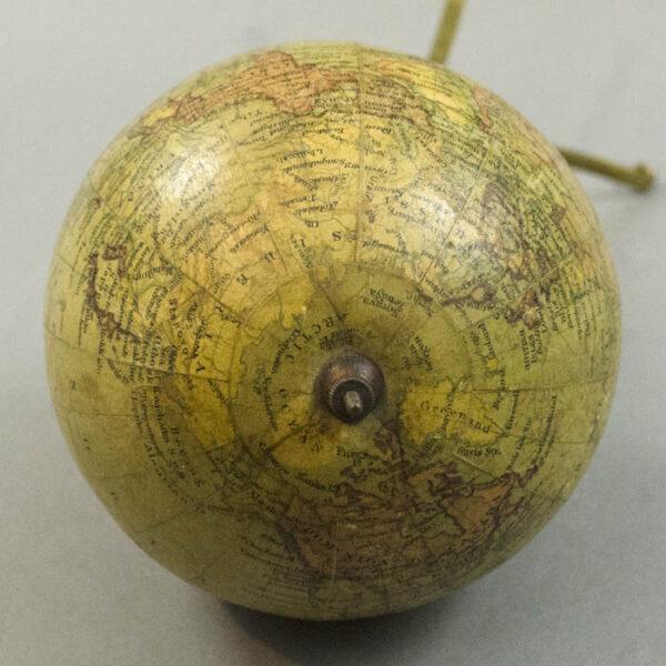 George Philip & Son 4-Inch Terrestrial Globe, detail
