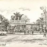 Balboa Park, San Diego [San Diego Zoo Entrance]