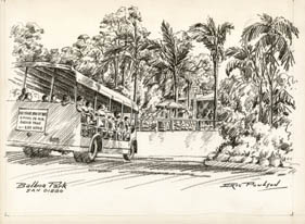 Balboa Park [San Diego Zoo Tour Bus]