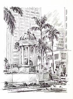 Fountain, San Diego