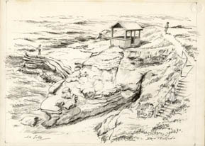 Drawings of La Jolla, San Diego