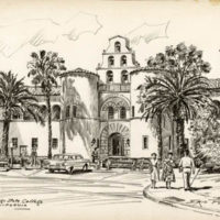 Drawings of San Diego State College