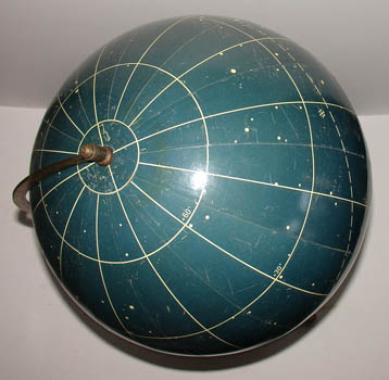 Paul Rath 13-Inch Celestial Globe, detail