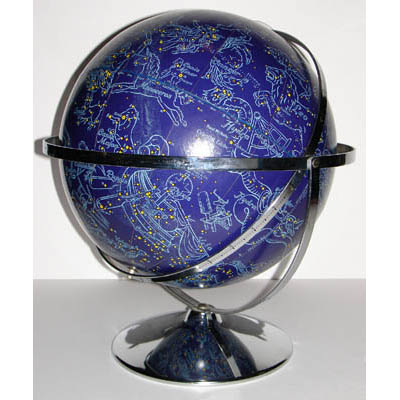 Rand McNally & Co. 12-Inch Celestial Table Globe