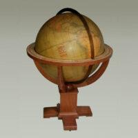 W. & A.K. Johnston/ Rand McNally 30-inch Terrestrial Floor Globe