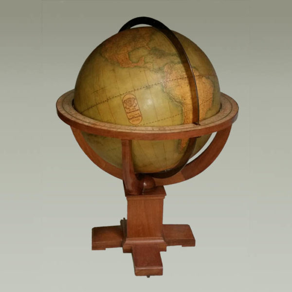 W. & A.K. Johnston/ Rand McNally 30-inch Terrestrial Floor Globe
