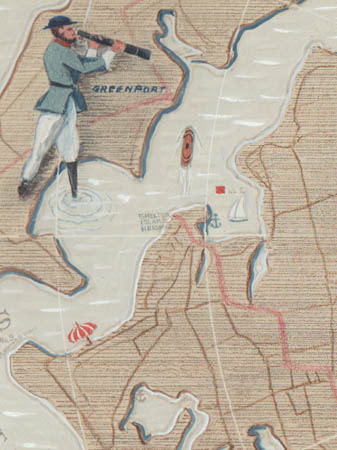Shelter Island map detail