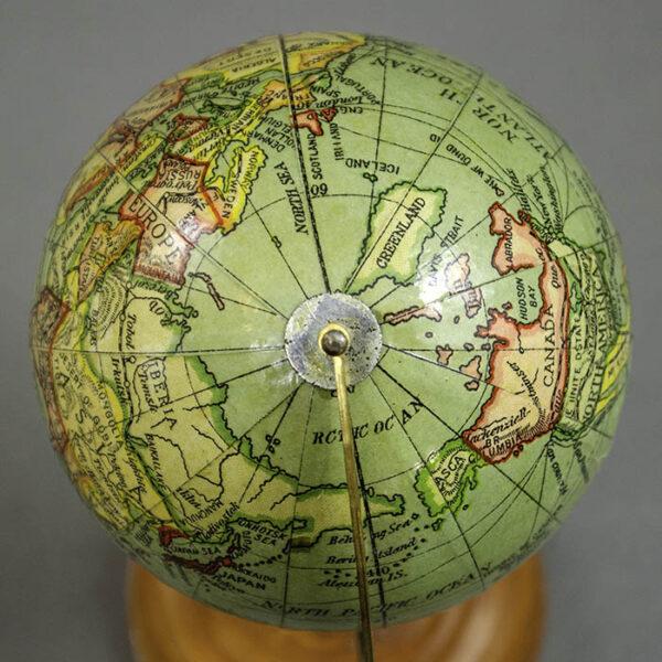 Y. Sukagawa 3-Inch Terrestrial Table Globe, detail