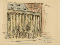 Historic Colonnade Row On Lafayette Street