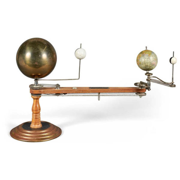 Trippensee Planetarium Company Tellurian, Maple Arm, c. 1910