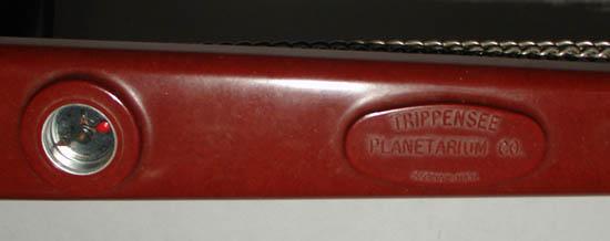 Trippensee tellurian, detail