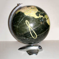 Weber Costello Co. 12-Inch Terrestrial Table Globe
