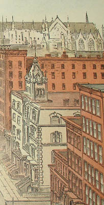 Detail of Fifth Avenue From 42nd Street, Looking North