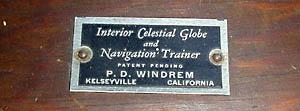 Celestial Globe, 15-Inch, P.D. Windrem