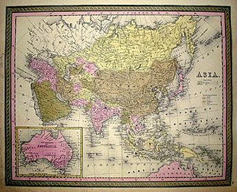 Mitchell's Map of Asia