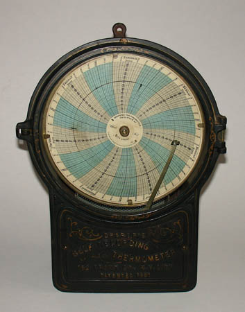 Measuring Device, Draper's Self Recording Thermometer