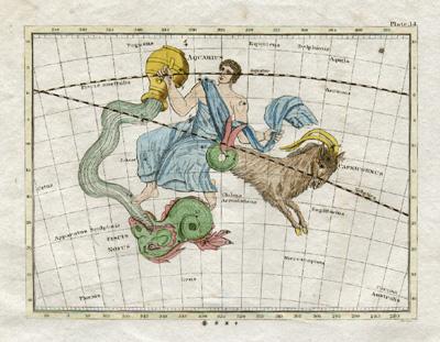 Plate 14: Capricorn, Aquarius, Piscis Notus