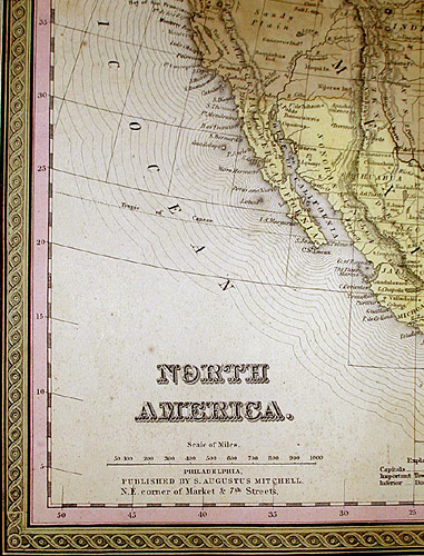Detail of North America