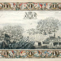 Spanish Armada Battle View, Plate IX