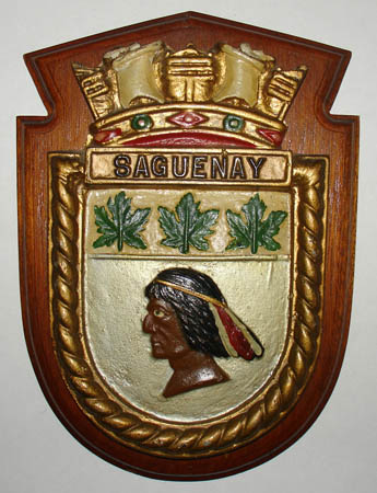 Relief Plaque, Royal Canadian Navy Ship Badges