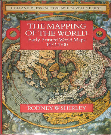 Map world reference book mapping of the world rodney shirley book cover gumiabroncs Choice Image