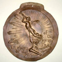 Relief Plaque, WWI, Triumph of the New Era 1918