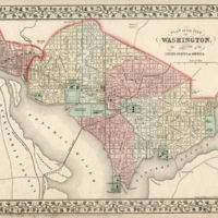 Map, Washington, D.C.